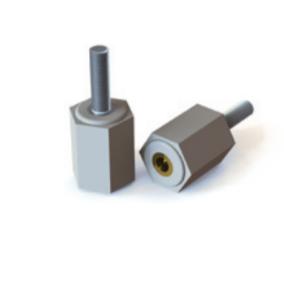 Digital rendering of Termate male/female low smoke standoff insulators