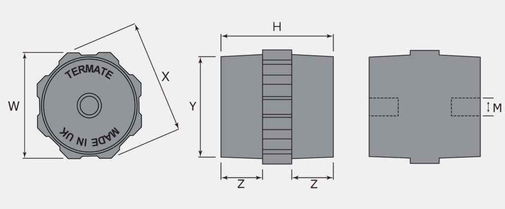Standoff Insulator Diagram
